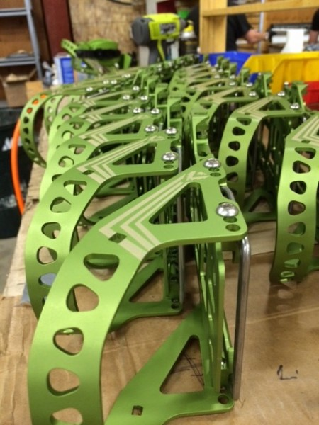 spark assembly green